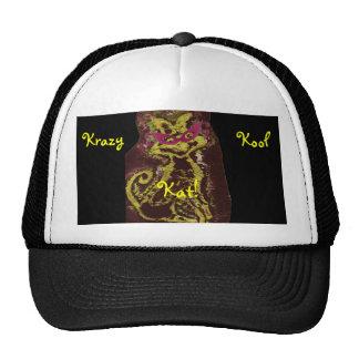 Galna Kool Kat mig hatt - anpassade Keps