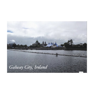 Galway stad, Irland Canvastryck