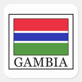 Gambia klistermärke