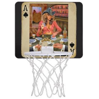 Gamblin Cowgirl Mini-Basketkorg