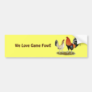 Gamefowl Wheatens Bildekal
