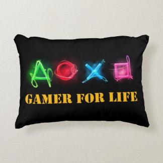 Gamer av liv prydnadskudde