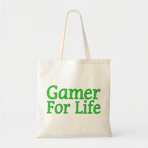 Gamer för liv tygkassar
