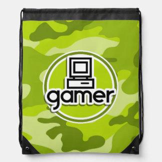 Gamer; ljust - grön camo, kamouflage