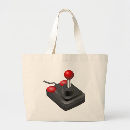 Gamer - styrspak tote bags