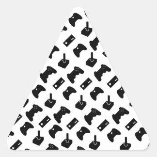 Gamer Triangelformat Klistermärke