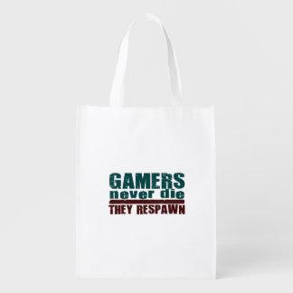 Gamers dör aldrig… återvinningsbar matkasse