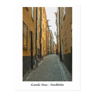 Gamla Stan - Stockholm Vykort