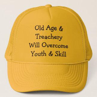 Gamling & TreacheryWill OvercomeYouth & expertis Truckerkeps