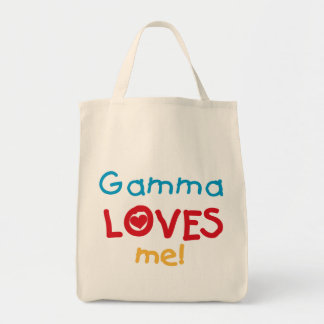 Gamma älskar mig T-tröja och gåvor Tygkasse