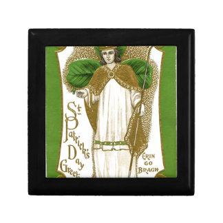 Gammal affisch för härlig saint patrick presentskrin