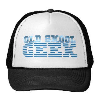 GAMMAL design för dator för SKOOL-GEEK80-tal Keps