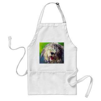 Gammal engelsk Sheepdog Förkläde