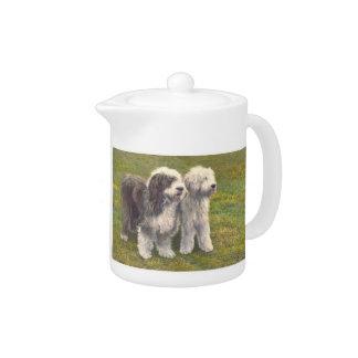 Gammal engelsk Sheepdogtekanna