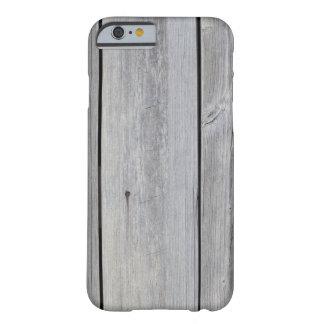 Gammal grå ladugårdvägg barely there iPhone 6 skal