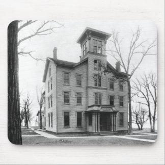 Gammal högskola, Evanston som byggas i 1855 Musmatta