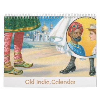 Gammal Indien kalender