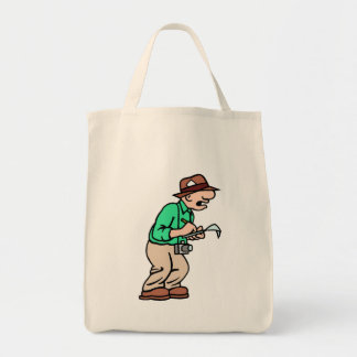 Gammal journalist tote bags