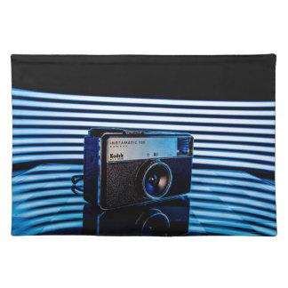 Gammal kamera: Modern belysning Bordstablett