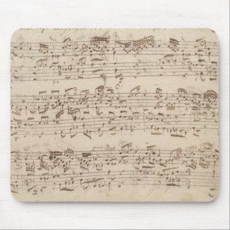 Gammal musik noter - Bach musiklakan Musmatta