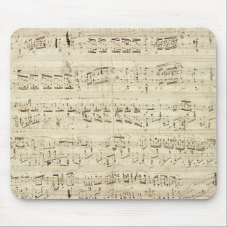 Gammal musik noter - Chopin musiklakan Mus Mattor