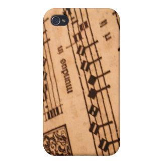 Gammal notblad iPhone 4 hud