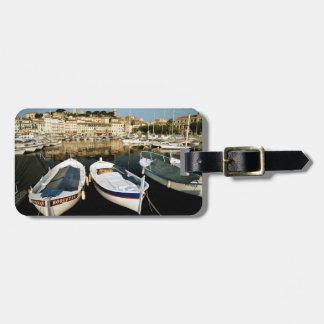 Gammal port bagagebricka