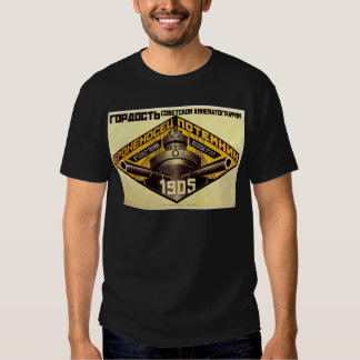 Gammal Pre sovjetisk rysk propagandadräkt Tshirts