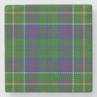 Gammal Scots Tartan för krogklanjägare Underlägg Sten