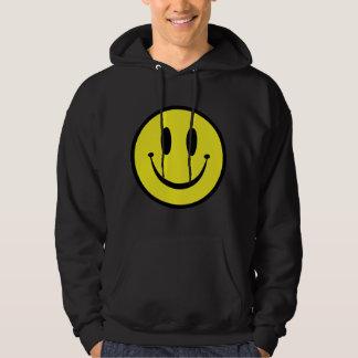 Gammal Skool Smiley Sweatshirt Med Luva