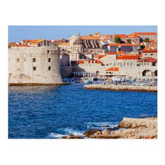 Gammal stad av Dubrovnik Vykort