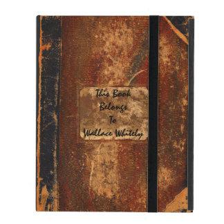 Gammal textbok iPad folio skal