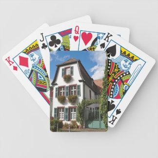 Gammal Town Heidelberg, Tyskland Spelkort