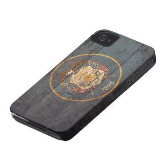 Gammal träUtah flagga; iPhone 4 Fodraler