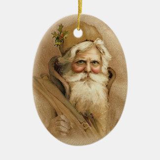 Gammal värld Santa 2 för jul Juldekoration