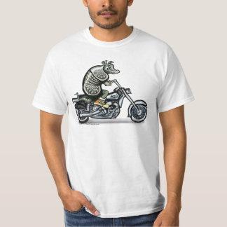 Gammal vresig biker t shirt