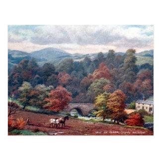 Gammal vykort - Co Wicklow, Irland