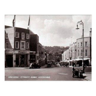 Gammal vykort - High Wycombe, Buckinghamshire