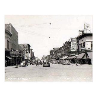Gammal vykort - Mitchell, South Dakota