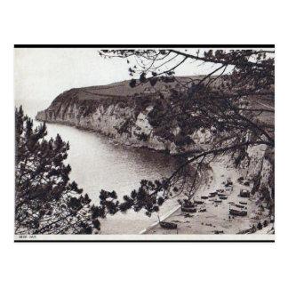 Gammal vykort - ölfjärd, Devon