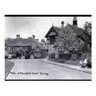Gammal vykort - Stånga-på-Thames, Oxfordshire