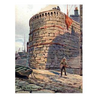Gammal vykort - Sunderland, Tyne och bära