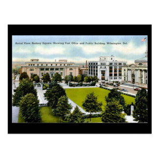Gammal vykort, Wilmington, Delaware Vykort