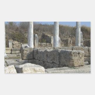gammala greece rektangulärt klistermärke