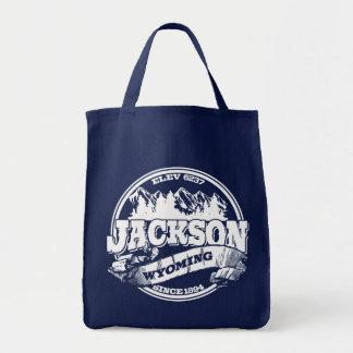 Gammala Jackson cirklar Tygkasse