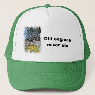 Gammala motorer dör aldrig truckerkeps