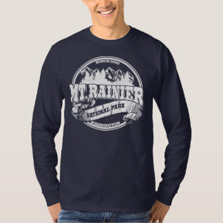 Gammala Mount Rainier cirklar Tee Shirt