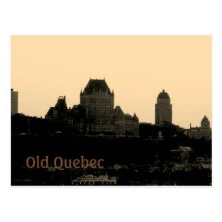 Gammala Quebec Vykort