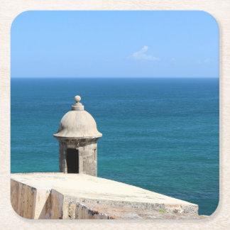Gammala San Juan Underlägg Papper Kvadrat