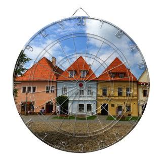 Gammala townhus i Bardejov, Slovakien Darttavla